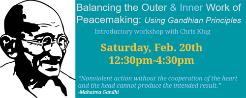Gandhi workshop