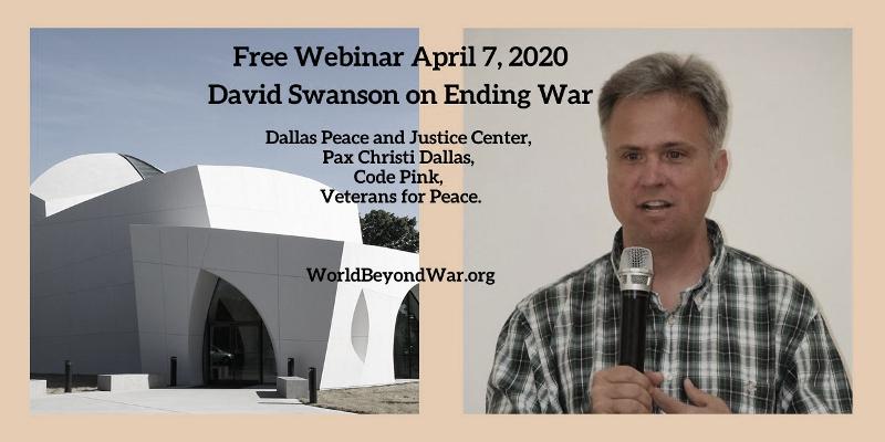 David Swanson event