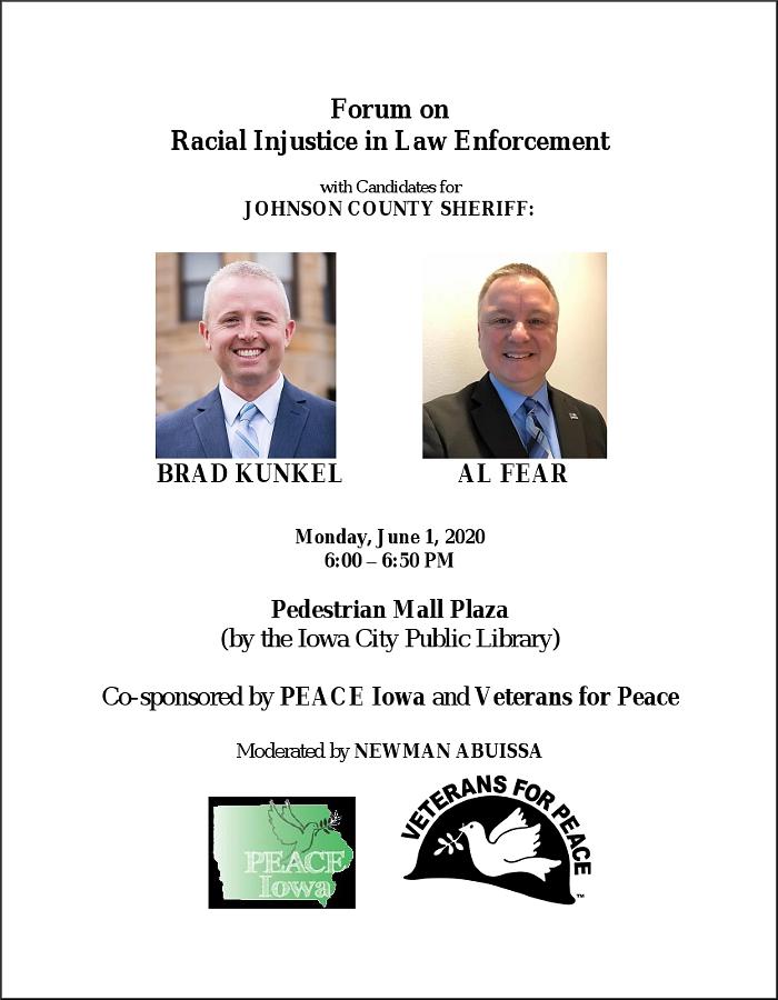 Sheriff Forum 06-01-2020