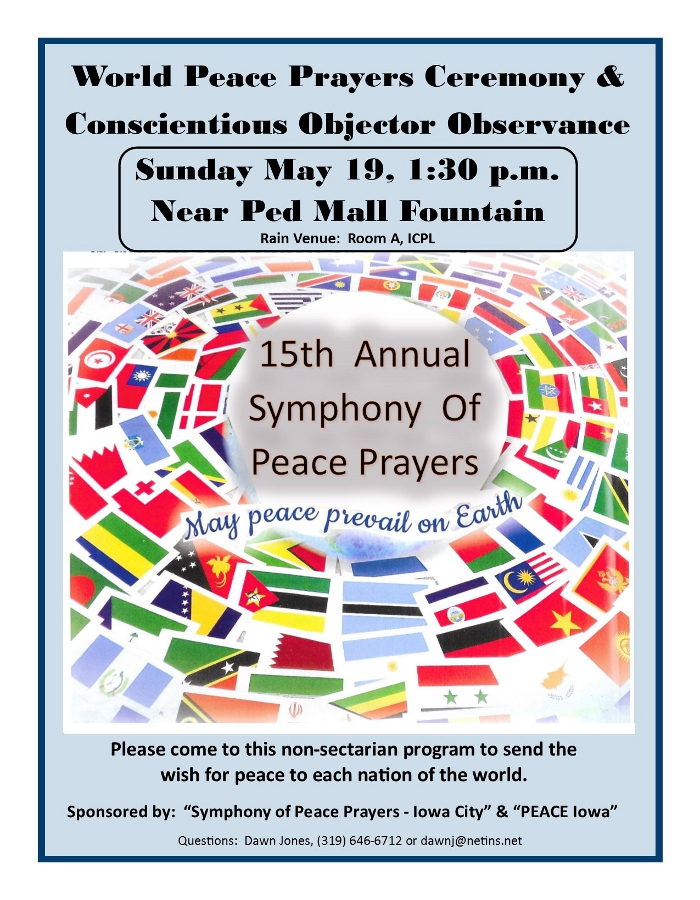 Peace Prayers 2019